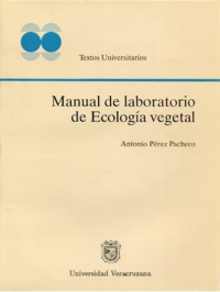Cubierta para Manual de laboratorio de ecologia vegetal