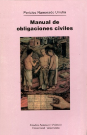 Cubierta para Manual de obligaciones civiles